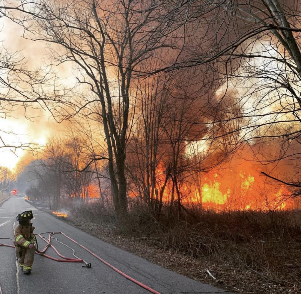 Photo courtesy Goldens Bridge Fire Department