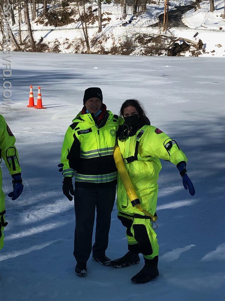 Firefighter Corado and EMT Aiello