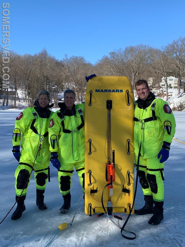EMT St. John, Firefighter/EMT Goldberg and Chief Jon Mackey